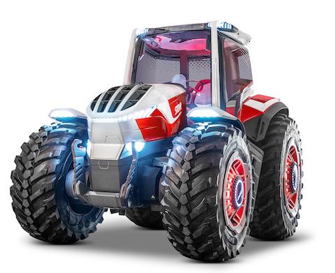 """Steyr Konzept:  il """"trattore del futuro"""" è ibrido"""
