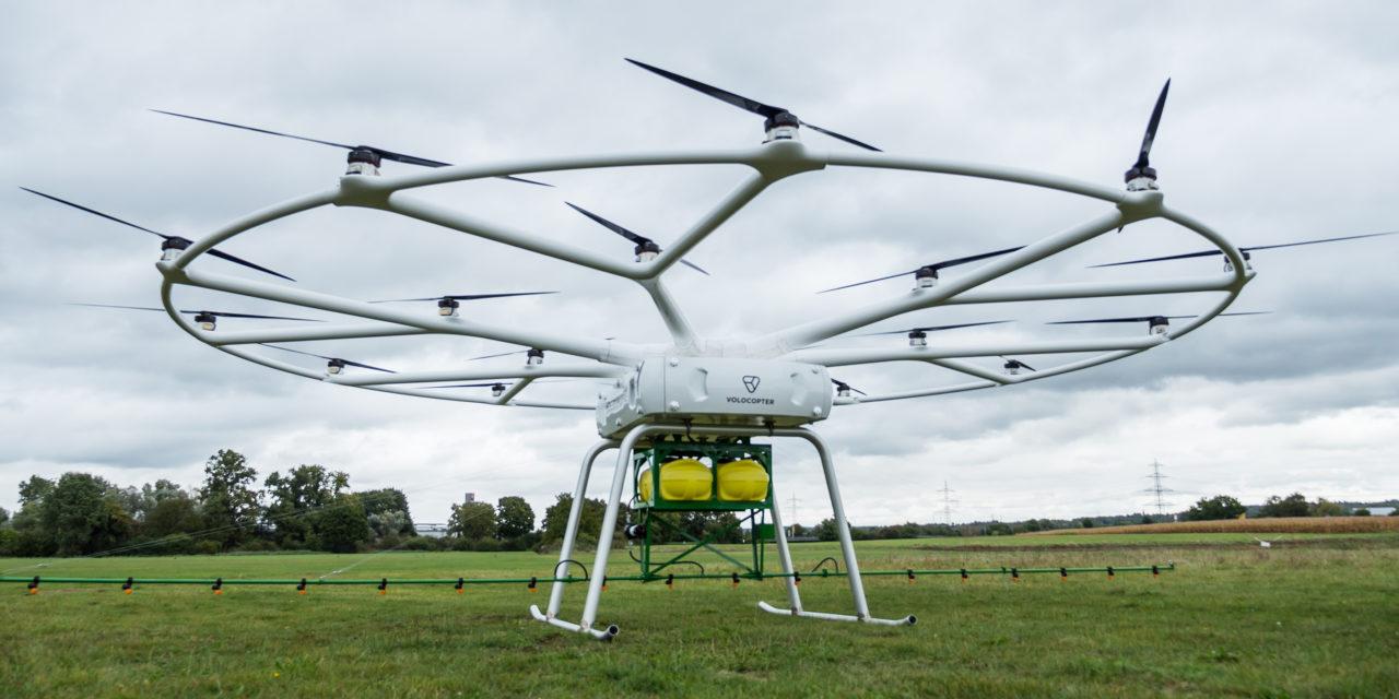 VoloDrone, il gigantesco drone utilizzabile in agricoltura