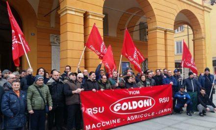 Goldoni spa: chiesto il concordato preventivo ma i lavoratori non ci stanno