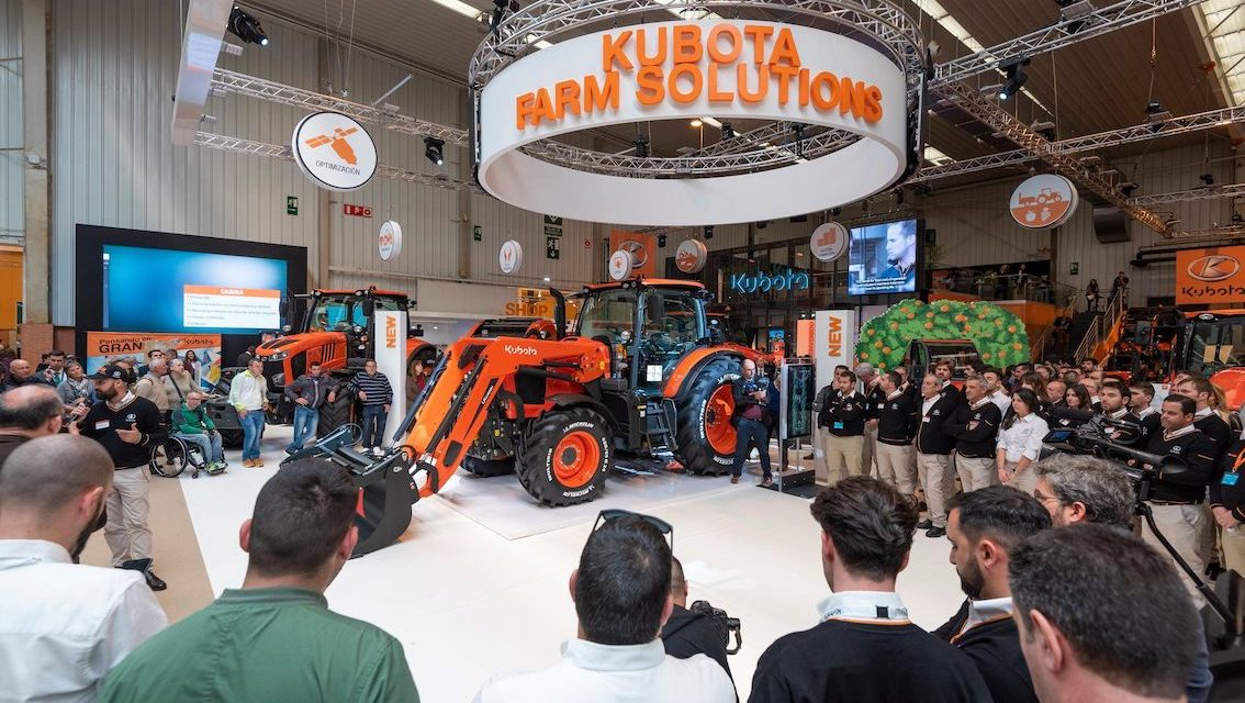 Kubota: debuttano a FIMA 2020 i nuovi trattori della Serie M6002