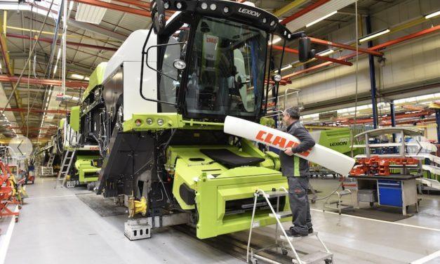 Claas: produzione ferma per tre settimane a Harsewinkel