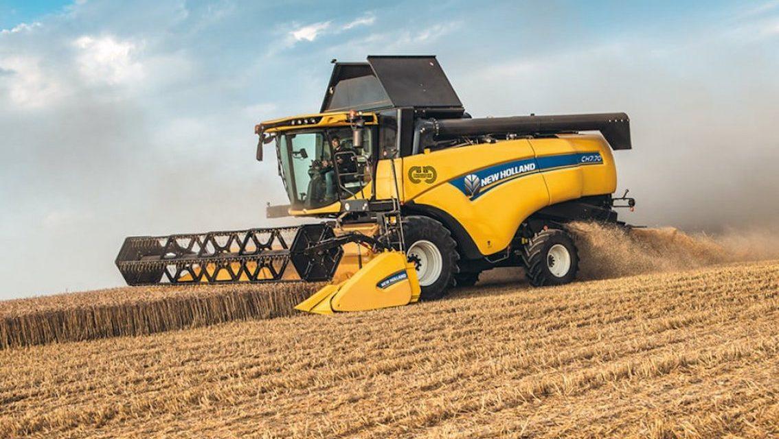 New Holland: Crossover Harvesting, la nuova tecnologia di trebbiatura giallo-blu