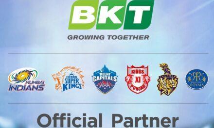 BKT sponsor di sei squadre di cricket della T-20 League indiana