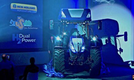 New Holland: première nei Paesi Bassi  di H2 Dual Power,  trattore a idrogeno di ultima generazione