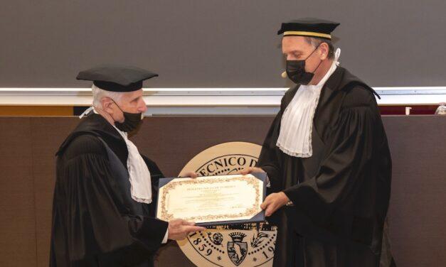 Amilcare Merlo: laurea ad honorem in Ingegneria Meccanica