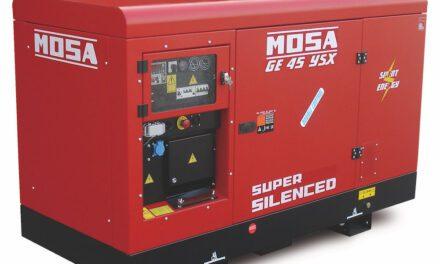 Gruppo BCS: i generatori Mosa garantiscono la continuità elettrica al treno sanitario di FS