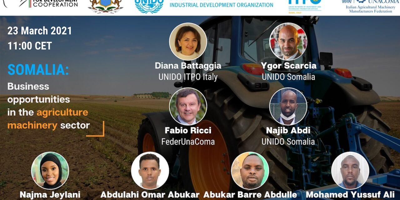 Somalia: di quali macchine agricole necessitano le piccole e medie imprese?