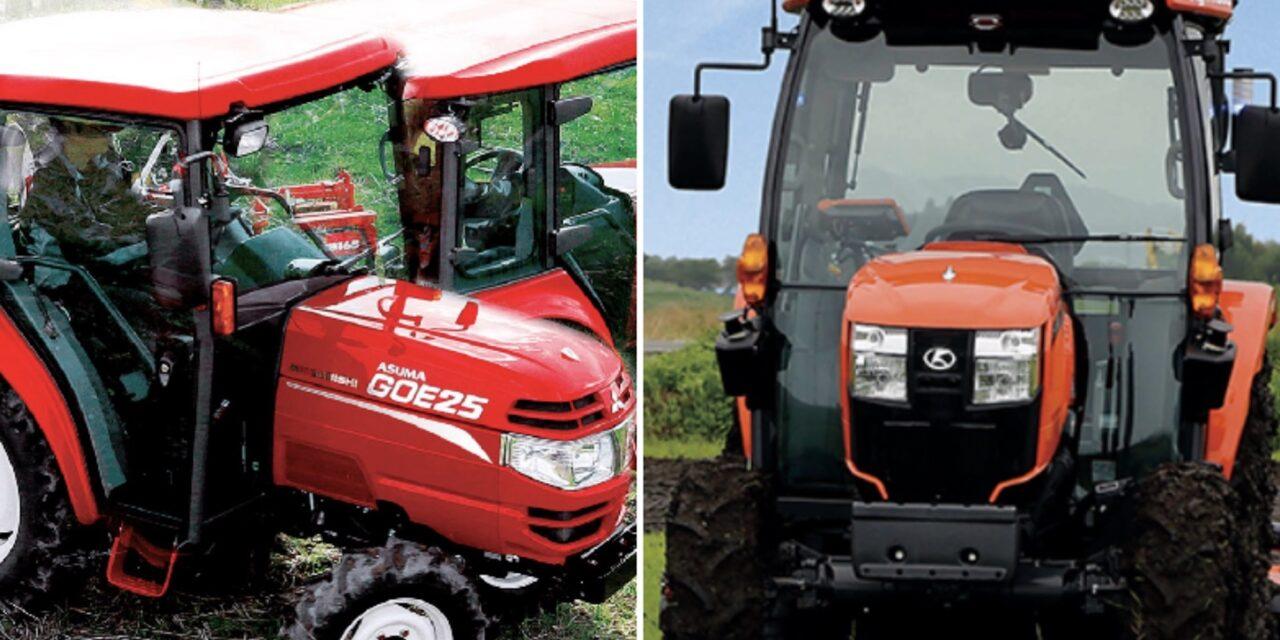 Mitsubishi Mahindra Agricultural Machinery e Kubota  pronte a collaborare sul mercato giapponese