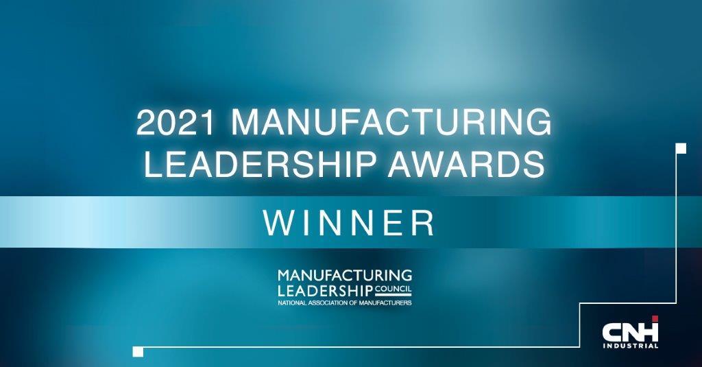 CNH Industrial: un importante riconoscimento ai Manufacturing Leadership Awards