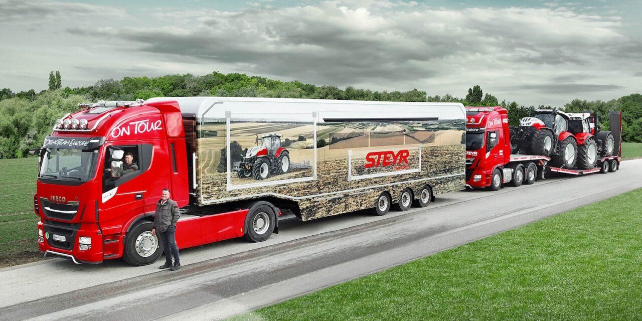 """Steyr: il rinomato marchio austriaco """"scende in campo"""" con un nuovissimo Demo Truck"""