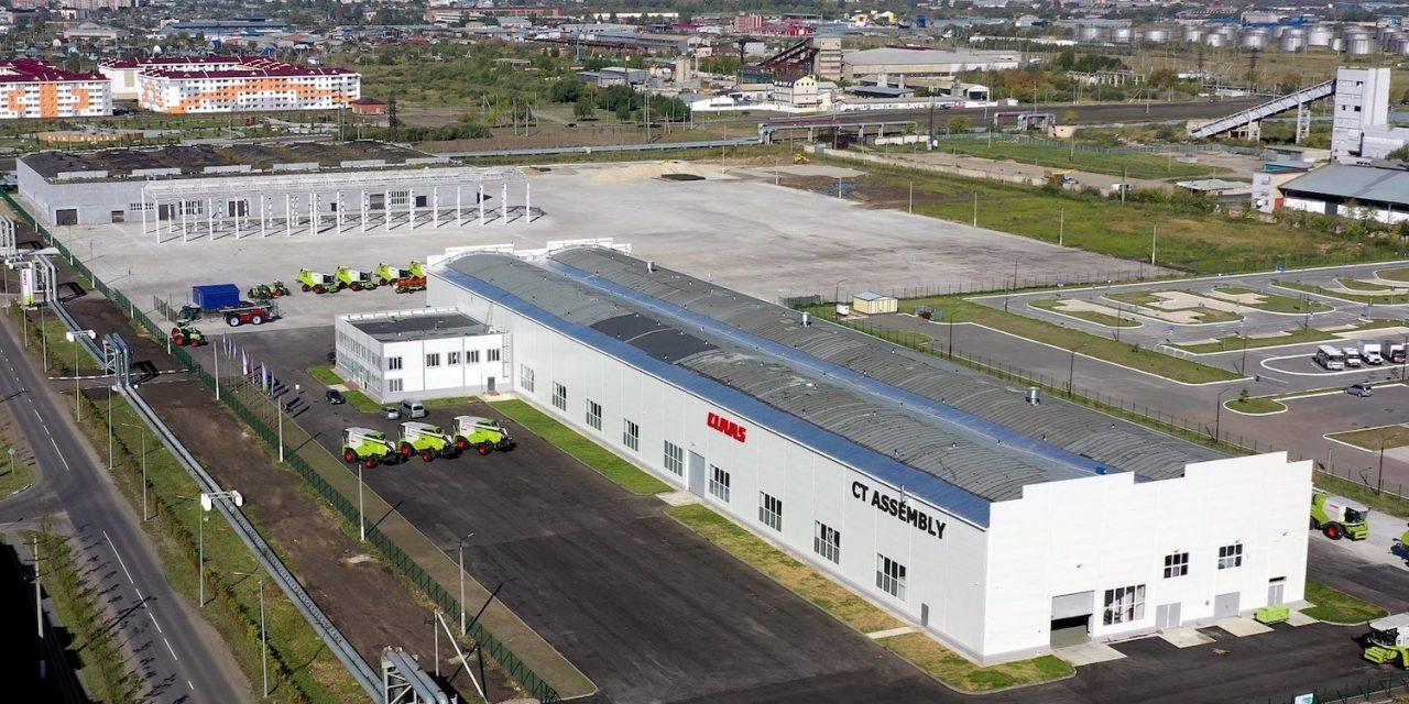 Claas: inaugurato il nuovo stabilimento di montaggio in Kazakistan